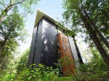 Geometrical and Original Sculptor's House in Canada ...