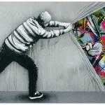 Stencil Graffiti & Murals by Martin whatson-0