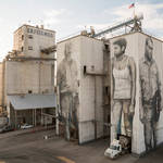 Gigantic Wall and Realistic Portraits in Arkansas 0