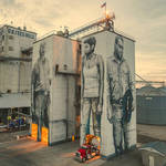 Gigantic Wall and Realistic Portraits in Arkansas 1