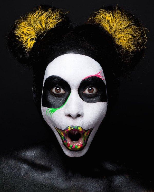 Amazing Japanese Pop Art Face Painting Fubiz Media