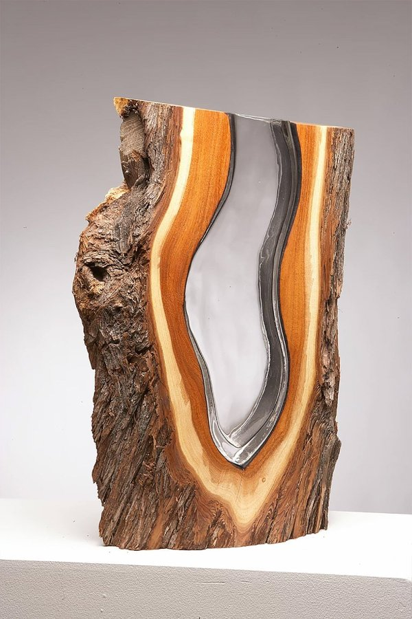 Surprising Sculptures Crafted Glass And Wood Fubiz