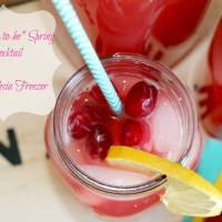 """The """"Soon-to-be"""" Spring Mocktail"""