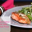 Pan Seared Salmon & Kale Salad