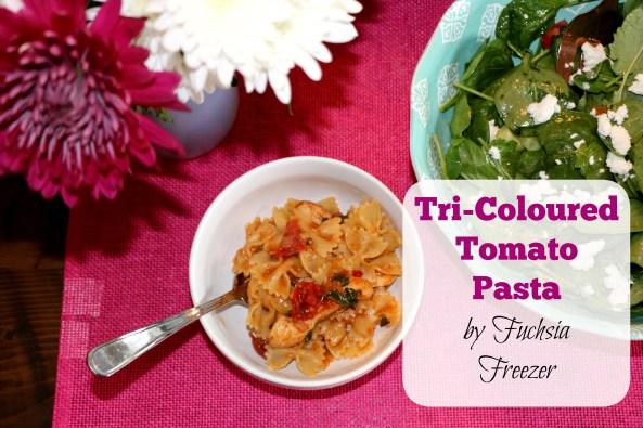 Tri-Coloured Tomato Pasta