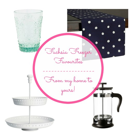 Fuchsia Freezer Favourites