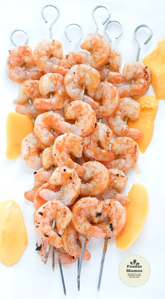Mango-Chili-Glazed-Shrimp