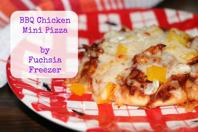 BBQ Chicken Mini Pizza