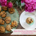 Dairy-Free Peach Chocolate Chip Muffins