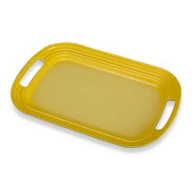 The Creuset Serving Platter in Sunshine