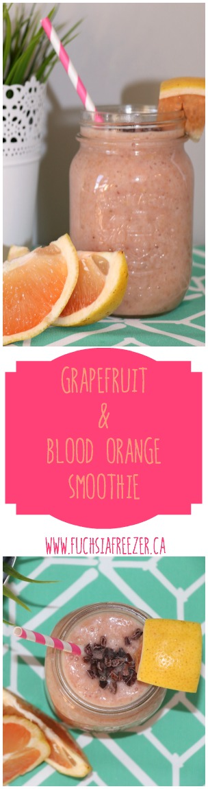 Brighten Up your Mornings with burst of grapefruit & blood orange! Amazing way to start you day! Cheers!