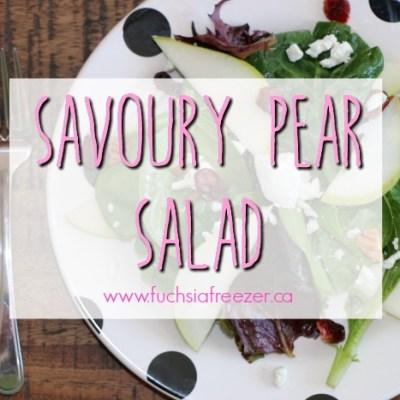 Savoury Pear Salad