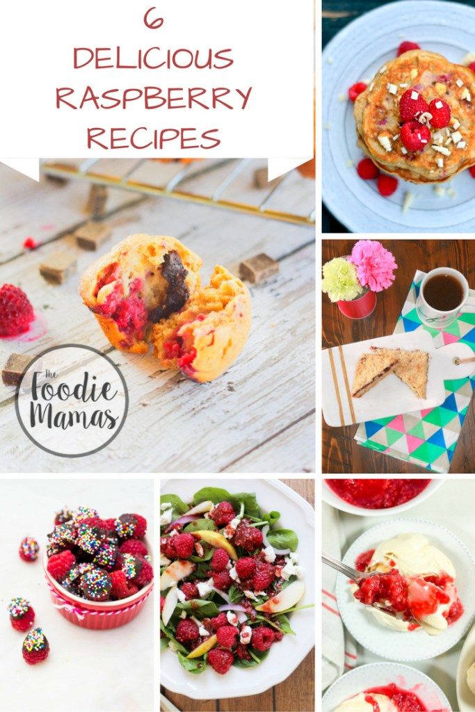 Six amazing recipes featuring that delicious little ruby gem. The #FoodieMamas are back with Raspberries! Click for more details…