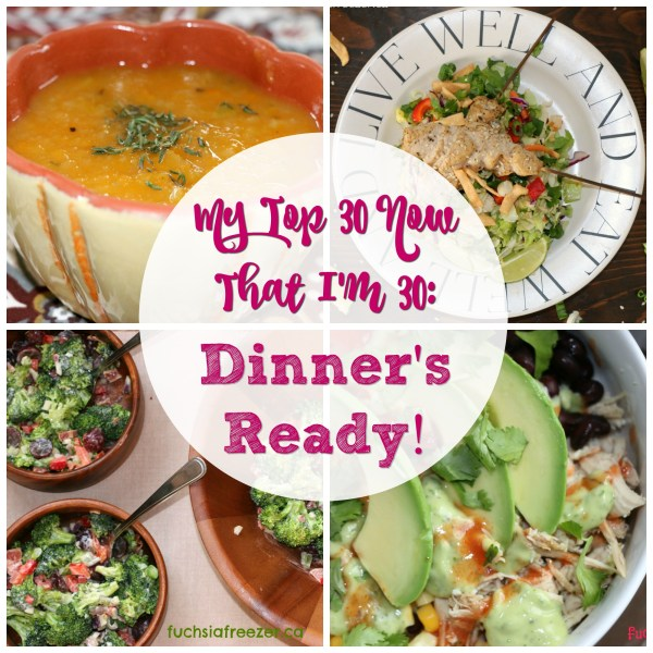 My top dinnertime recipes! Easy to follow, simple to make, and delicious healthy food for your family! Easily freezable dishes, and perfect leftovers for lunches. What more could you want?