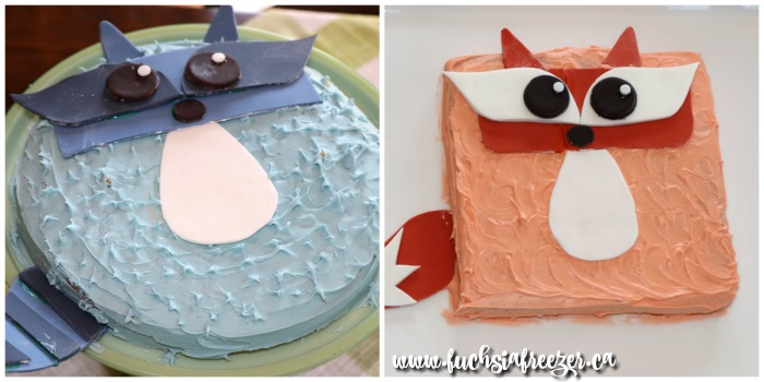 racoon-and-fox-cakes