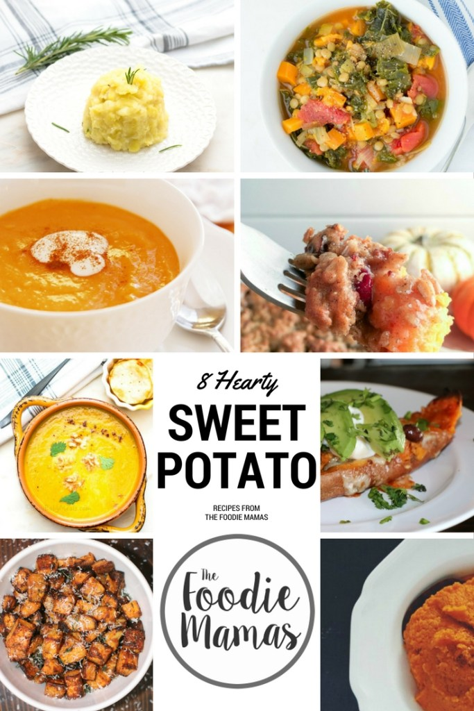 Sweet Potato Round up from the foodie mamas! A delicious collection of amazing sweet potato recipes for even the pickiest eater in your family! Try them today!
