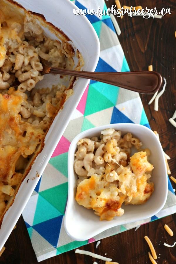 Lighter Mac N Cheese. Enjoy comfort food while eating healthy!