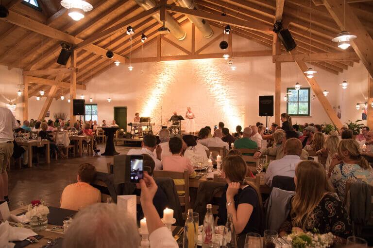 Eventscheune  Fuchskaute  Restaurant und Lodge