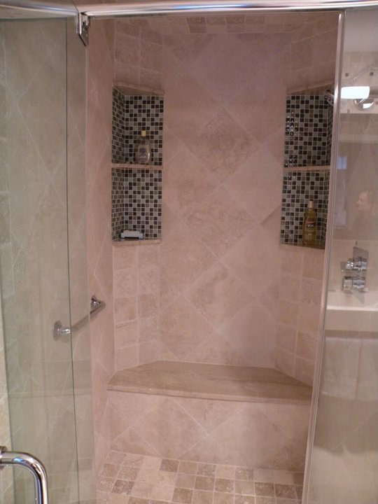 Shower Tile Glass Mosaics  Fuda Tile