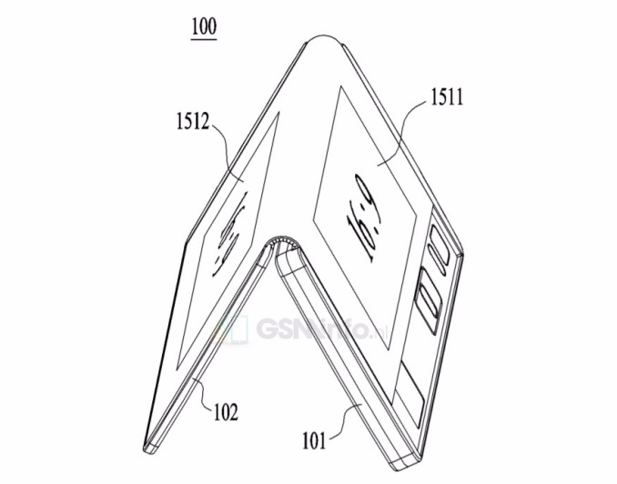 Samsung and LG working on folding phones