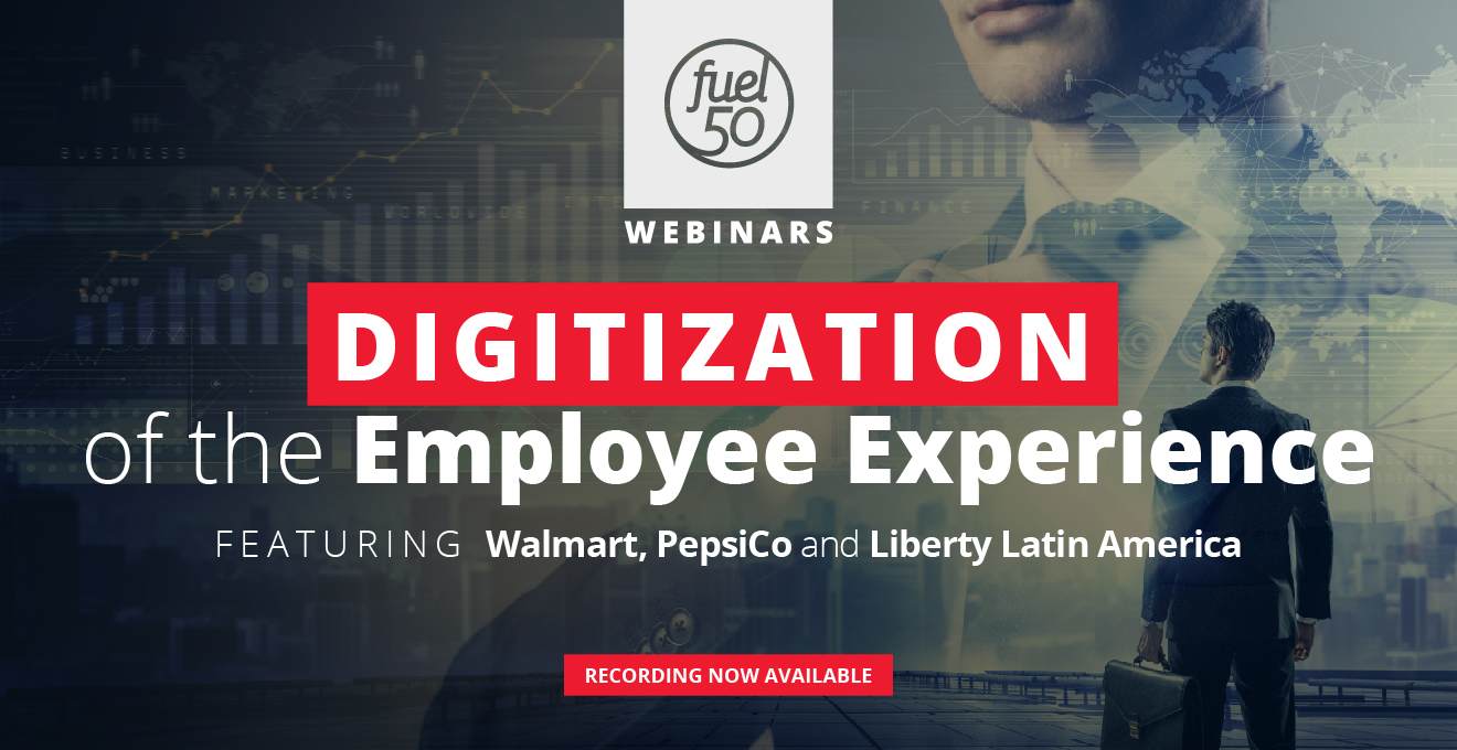 Digitization of the Employee Experience