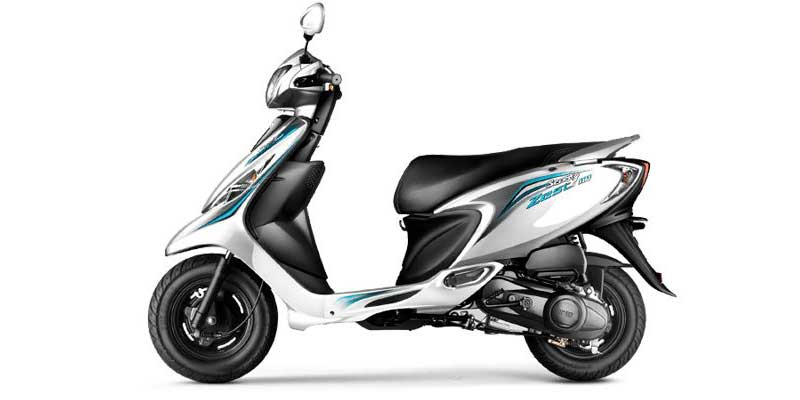 Tvs Scooty Zest 110 Available Colors