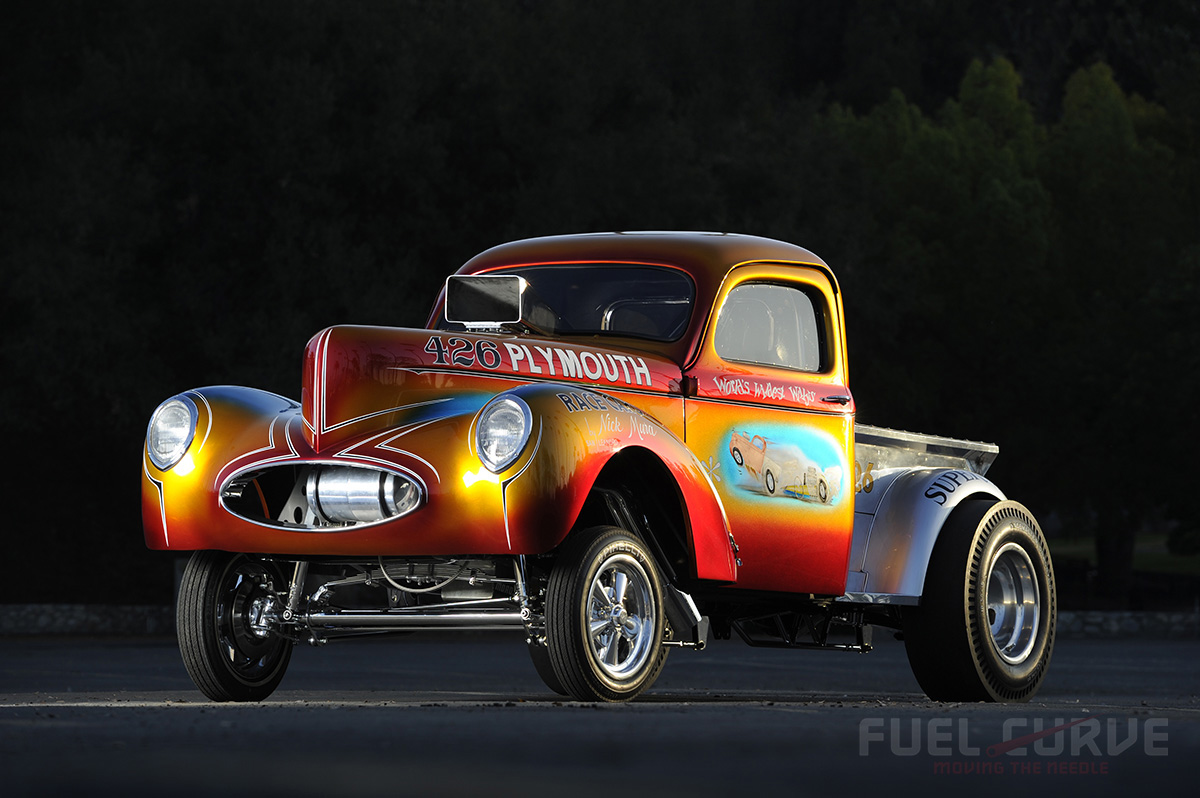 Willys Gasser The Pride of the Mura Brothers  Fuel Curve