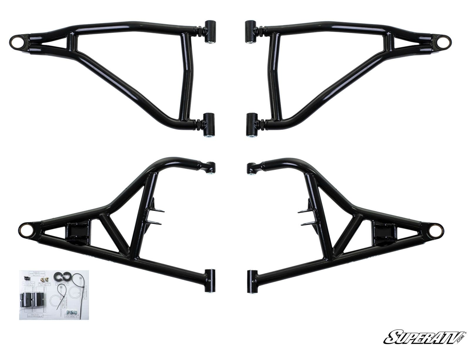 Superatv Polaris Rzr Xp High Clearance 1 5 Forward