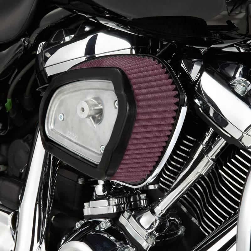 Honda Fuel Filter Installed Arlen Ness Big Sucker Black Stage I Air Cleaner Kits For