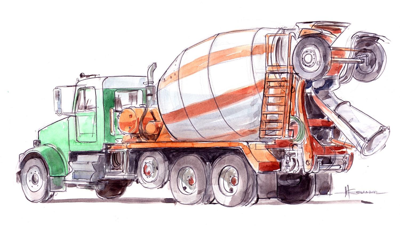 ultimate concrete truck profitability
