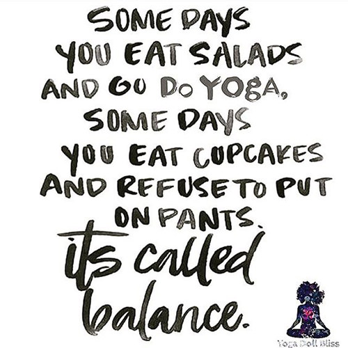 Image result for somedays you eat salads and