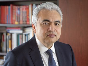 Fatih Birol. Photo courtesy of IEA.