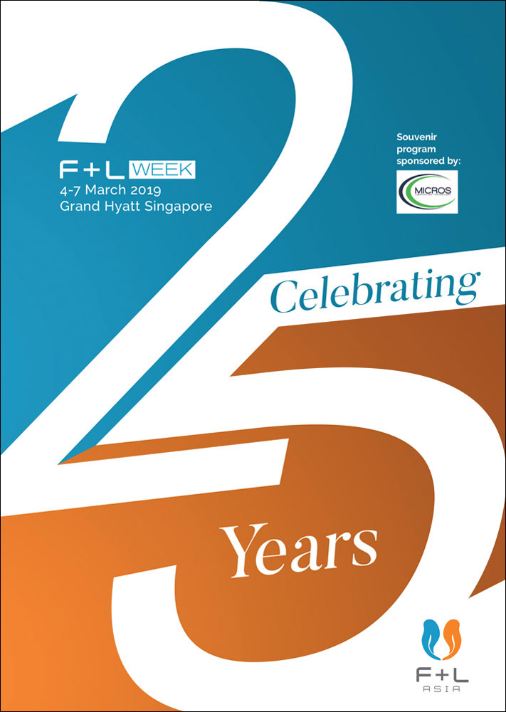 F+L Week 2019 Souvenir Program - Celebrating 25 years