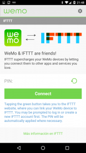WeNo-Settings-IFTTT