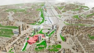 Infografia del proyecto Madrid Puerta Norte / Ayto.Madrid.