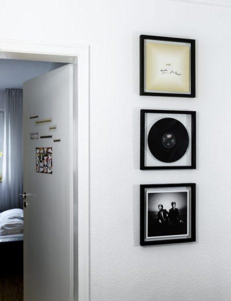 Fünf vor Zehn | Vinyl Cover Rahmen