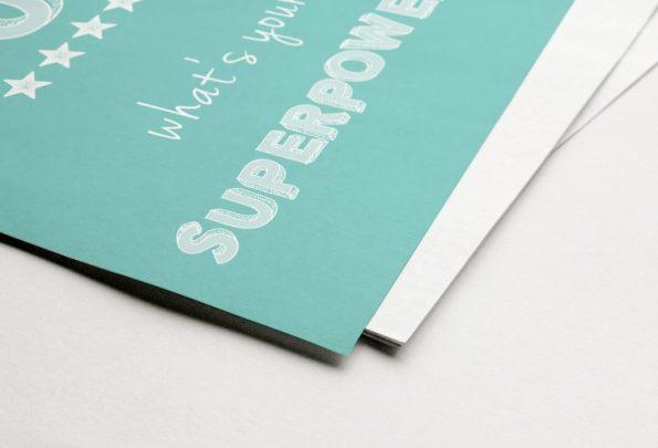 I'm a MUM whats your Superpower Fine Art Print | Fünf vor Zehn