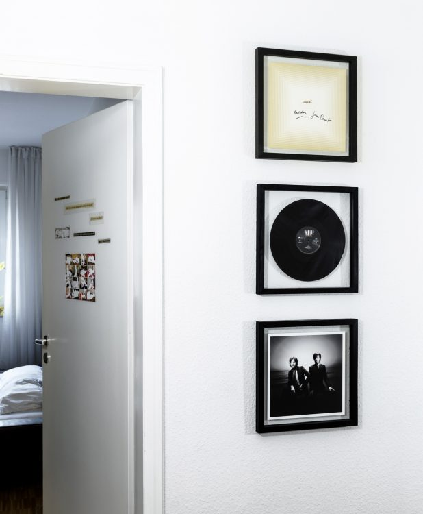 Schallplattenrahmen