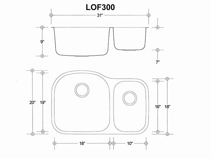 kitchen sink protectors swinging door banjo – lof300   fuentera sinks