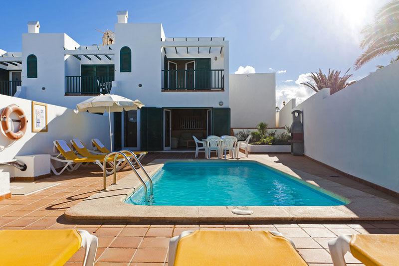 Ville Lara Fuerteventura ville con piscina a Corralejo