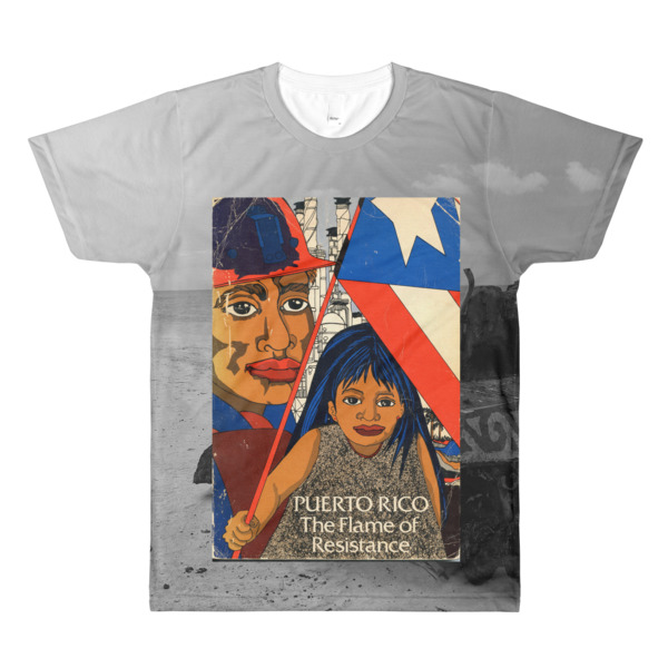Puerto Rico The Flame of Resistance T-Shirt