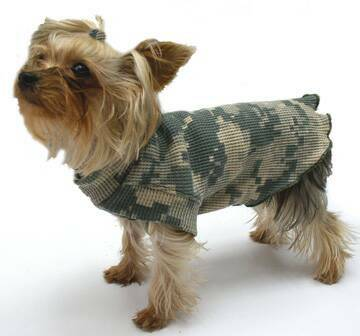 Camouflage Fashions dog clothes