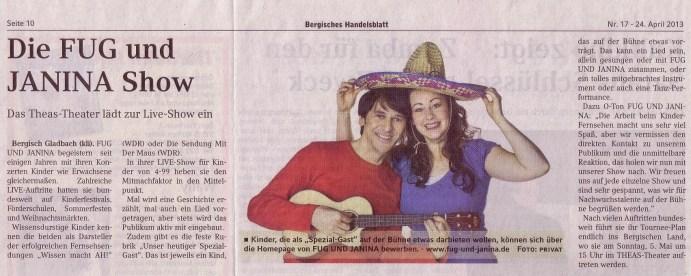 Bergisches Handelsblatt 24 04 2013