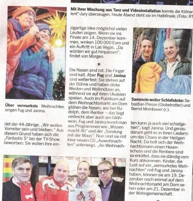 Kölnische Rundschau 07.12.2013