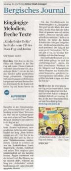 Kölner Stadt Anzeiger 20 04 2015