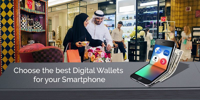 What are the famous digital wallets are using in UAE?