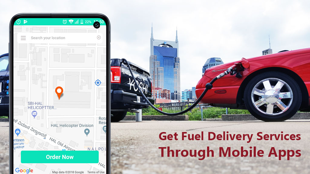 Advantages and features of fuel delivery servicing apps