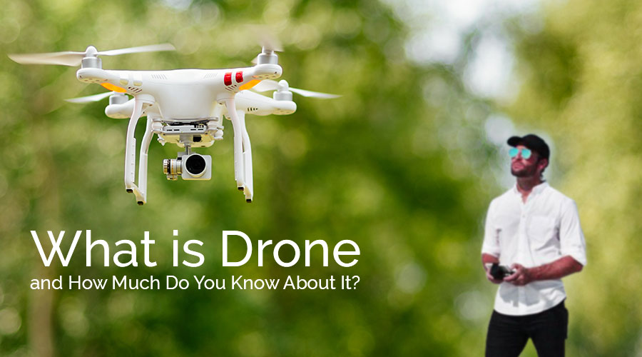 What is Drone? How to develop a Drone control application?