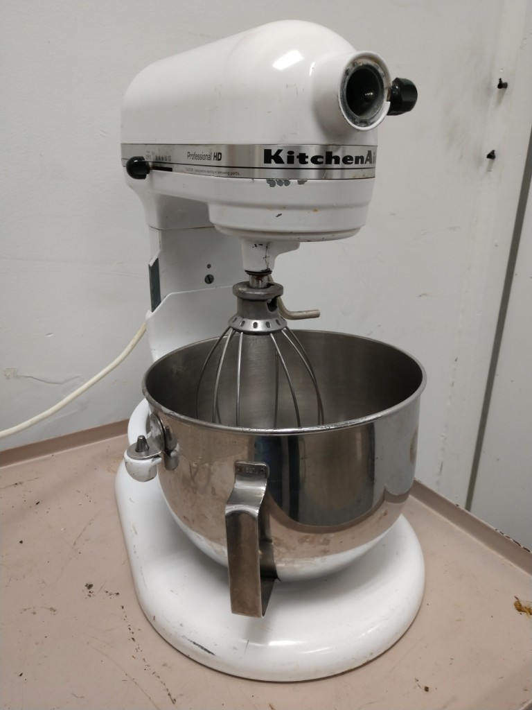 kitchen aid professional ceiling lights for hd mixer counter top used fugh 1