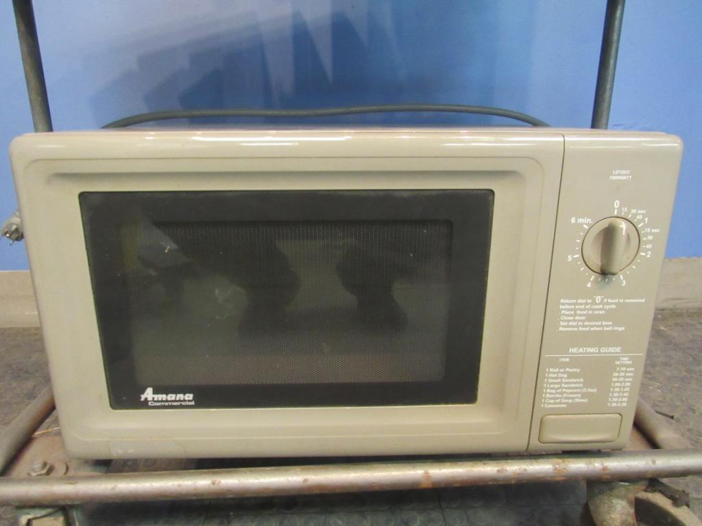 amana ld10d2 microwave commercial 1000 watt